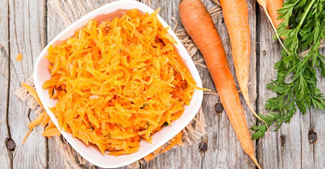 Recette minceur Salade de carottes