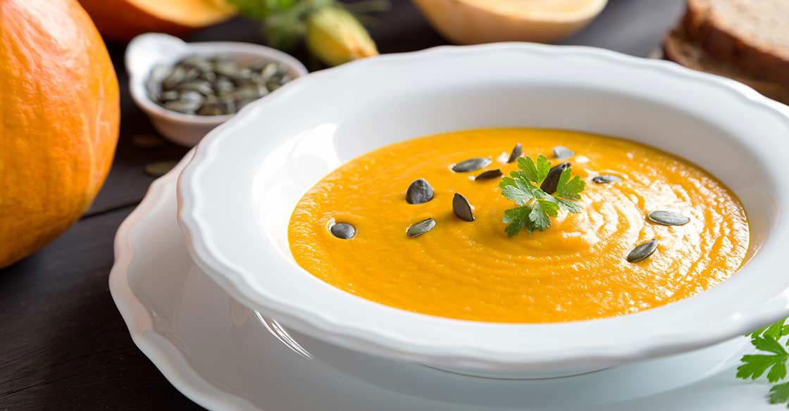 Recette minceur soupe de potiron