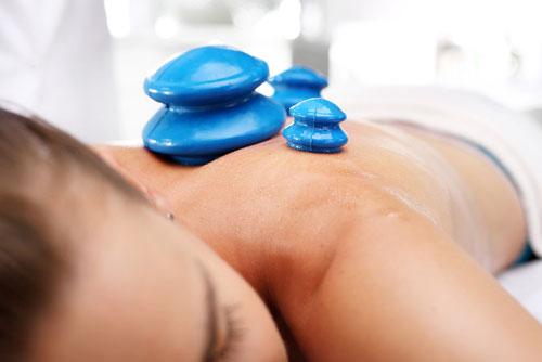 massage anti cellulite, ventouse